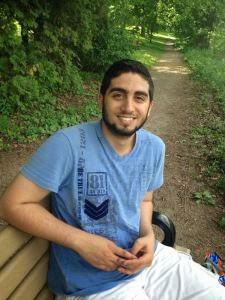 Essay winner Mohamed Gatie