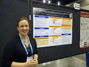 Dr. Julie Robillard at ISSCR 2014.