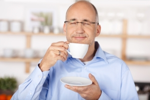 Ah, the smell of coffee! You can thank your olfactory bulb.