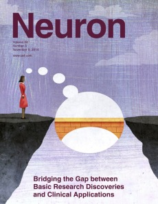 This special review issue of addresses some of the key challenges for translational neuroscience and the path from bench to beside. [Credit: Cell Press]