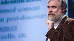George Church speaking recently [Credit: PopTech.org]