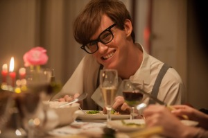 Eddie Redmayne as Stephen Hawking in The Theory of Everything [Credit: Focus Features]