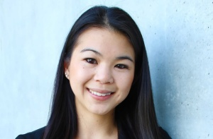 Grad Slam winner, Ashley Fong from UC Irvine