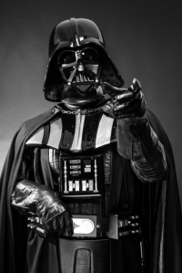 Darth Vader: Photo by Stefano Buttafoco