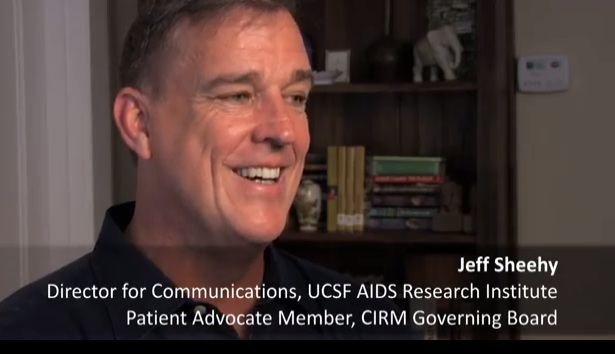 In this video HIV advocate and CIRM board member Jeff Sheehy looked forward to the launch of this trial when CIRM began the preclinical part of the project five years ago.