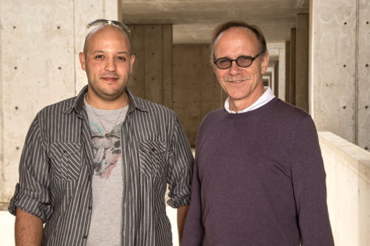 First author Jerome Mertens and senior author Rusty Gage (Courtesy of the Salk Institute for Biological Studies).