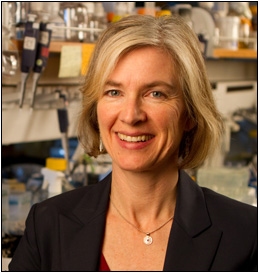 Jennifer Doudna: Photo courtesy of iPSCell.com