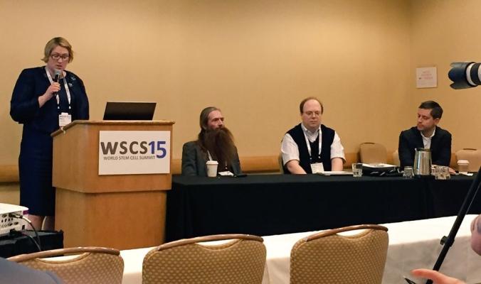 Aubrey de Grey, Paul Knoepfler, Aaron Levine