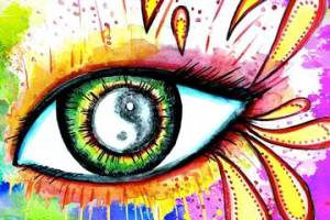 Artistic representation of the human eye. (Dr. Kang Zhang, Dr. Yizhi Liu)