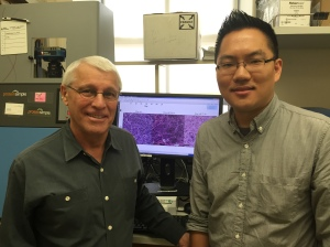 Owen Witte and first author John Lee (UCLA).