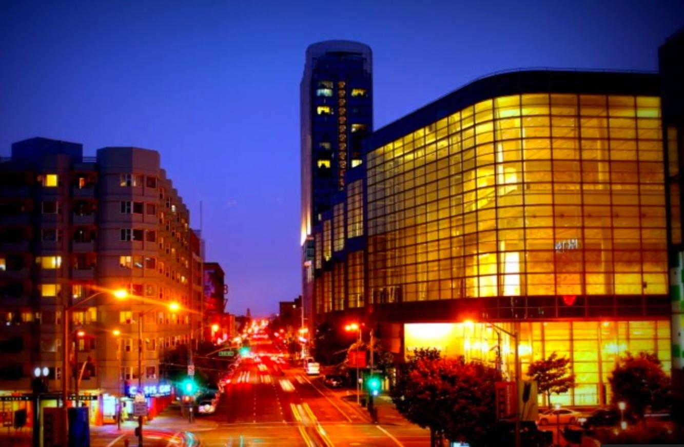 Moscone at dusk