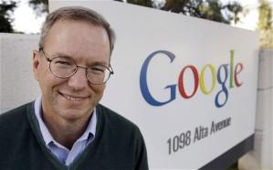 Google's Eric Schmidt