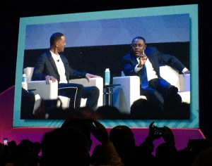 Will Smith and Dr. Bennet Omalu at #BIO2016
