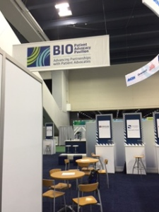 Patient Advocacy Pavilion at BIO2016