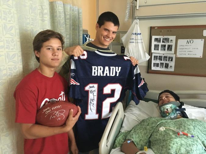 Jake and Brady gear