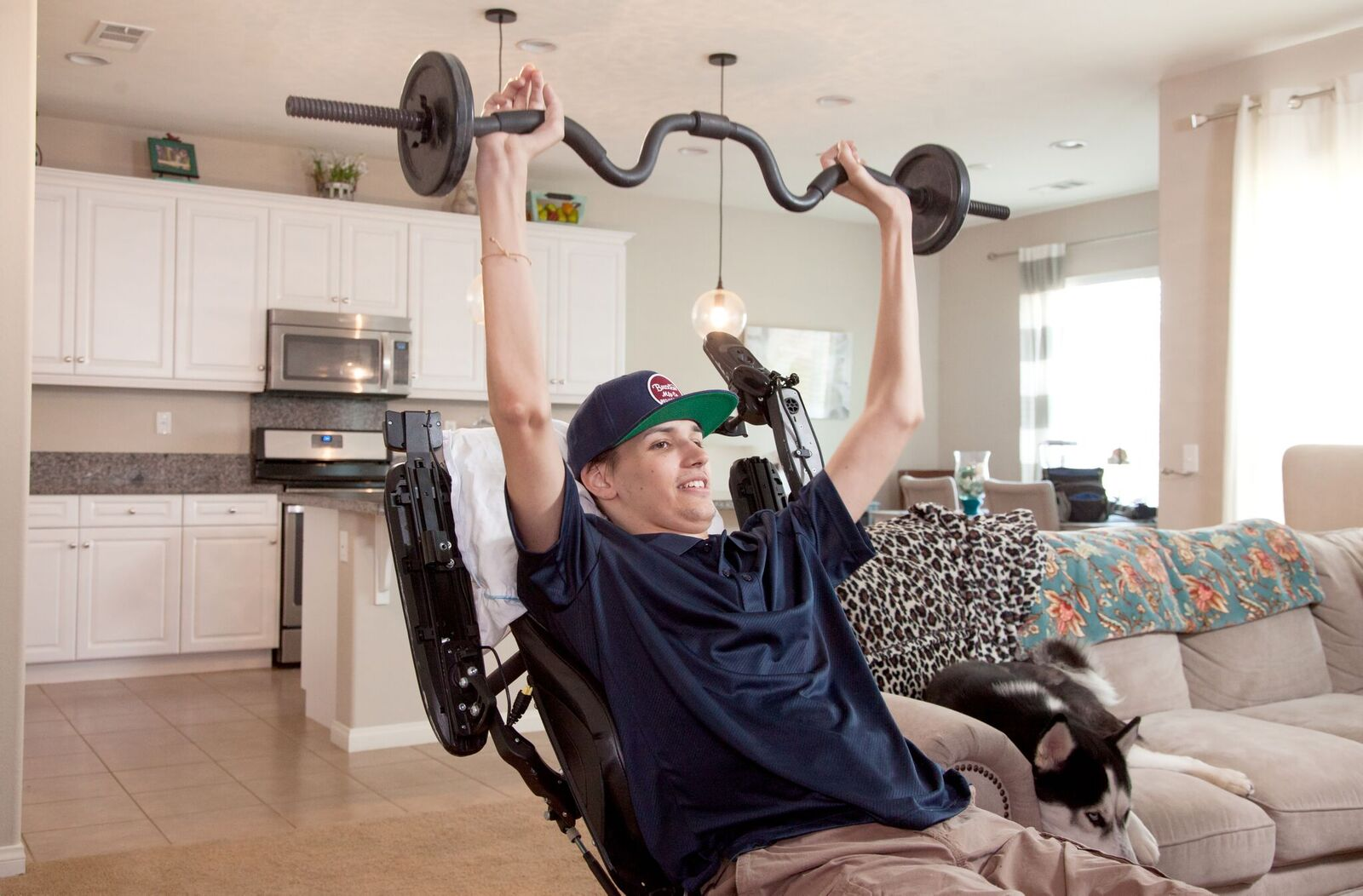 Young man with spinal cord injury regains use of hands and