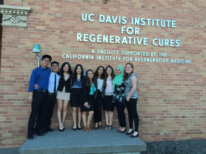 UC Davis CIRM SPARK program 2016