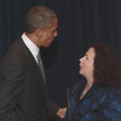 Janni and Obama