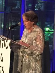 Diane at podium